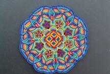 Crochet mandala / by Yolanda Ivette Mendoza Chavez