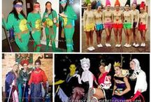 Fancy Dress Ideas / Students... If you have a fancy dress party for Halloween, Christmas, the end of term or just for fun - find easy ideas here!