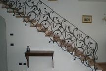 Stairs Railing / http://www.martelliferrobattuto.com/index.php?route=product/category&path=37_56