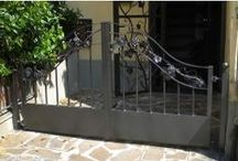 Pedestrian Gate / http://www.martelliferrobattuto.com/index.php?route=product/category&path=39_61