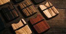 Unsere Holzarten / Die dünne Brieftasche mit dem schlanken, praktischen Design passt in jede Hosentasche und bietet auch als Kreditkarten Portemonnaie Platz für vier Karten und Scheine aller Größen.