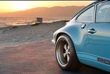 My New Porsche / Porsche 911 by Singer and some original sweet rides