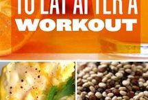 Goods foods to eat / Healthy eating and work out food
