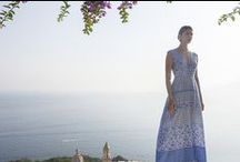 Summer Collection 2016 / Le Sirenuse Positano – Mare Collection 2016 distils the chic nonchalance of the hotel that nurtured it. For everyday wear, caftans are deliciously fresh and loose. Honeymoon brides wear silky, flowing long dresses. Just throwing something on, and looking just great.
