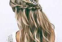 Bridal Hair Inspiration / Butterfly Hair & Makeup  over 1000+ inspiring Bridal Hair ideas!