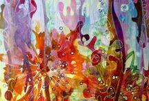 Jeannette Kommer Art / Paintings by Jeannette Kommer, Dutch-Australian