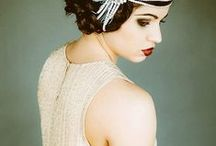 1920s + Great Gatsby / Great Gatsby and 1920's inspired costumes and decor, for weddings and events.