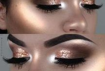 Glam/Party Makeup / Butterfly Hair & Makeup