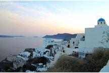Destination: Greek Islands / Amazing views of the beautiful Greek Islands, including Mykonos and Thira and Oia in Santorini / www.emilyroggenburk.com/greek-islands/