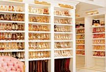 Dream Closets / Dream closets... because we all need a little wardrobe inspiration.