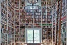 Dream Bookshelves / Dream bookshelves... Need I say more?