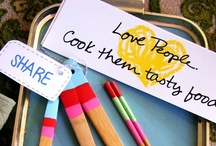 Love people. Cook them tasty food. / by Melanie Fortenberry