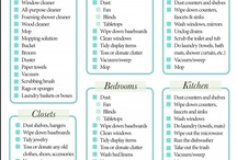 Cleaning & Organizing / by Ashley Howard
