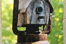 Bird House / Feeder / Bath / Houses...Cages...Feeders...Baths