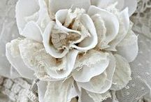 Blooms Fabric / All Handmade Flowers / by W. Kay Designz