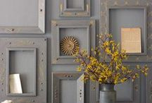 Picture Frames Upcycled