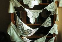 Garland / Banner / Bunting / by W. Kay Designz