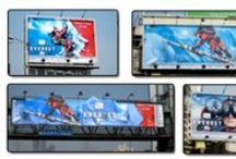 3D Billboards / Billboards designed by Encyclomedia Networks around the world. Flat prints that look 3D.