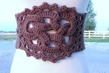 """Crocheted & Knitted Accessories, Free Patterns / """"Peace is the #1 beautiful ornament you can wear,"""" C. JoyBell C. / by Theresa Clark"""