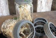 Jar..Bottle..Vase Repurposed
