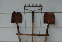 Tools Garden Repurposed