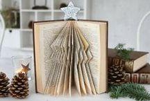 Books Folded Repurposed