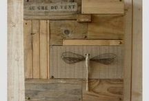 Salvaged Wood Repurposed / Deconstructed Pallets & Other Misc Sources