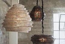Lampshade...Lantern Burlap