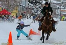 Steamboat Winter Carnival / The more than century-old Winter Carnival in Steamboat Springs, Colorado, is held annually in February. This must-see event includes competitions for children, adults and Olympians; and features skiers and snowboarders being pulled by horses, dogs and even dads.