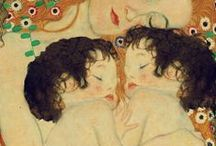 Art/Gustav Klimt / Artwork by Gustav Klimt / by Gloria Fraser