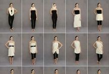 """Convertible Women's Clothing/Versatile Wardrobe, Free Patterns / I've got a lg list going for cute clothes patterns & tutorials, but not even 1/2 as big as the lil church mice. Oh & get this they've coined a term """"modestify"""" used to turn cute clothes into garbage bags. Don't let your Mom's & Grandma's fool you I was a little kid in the 60's, a teen in the 70's, & a young adult in the 80's they weren't modest. Don't let the shapeless boobless wonders turn you into a doormat just to make them feel better. / by Theresa Clark"""