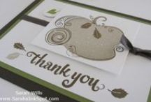 Stampin Up Paper Pumpkin / by Sarah Wills