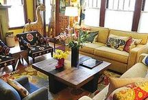 Mary Liz's Home / Take a peek at Leon & Lulu's co-owner Mary Liz Curtin's home.