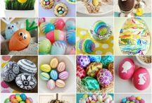 Easter Ideas / Easter themed crafts/decorations/cakes etc.
