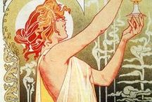 Art/Alphonse Mucha / Artwork by Alphonse Mucha / by Gloria Fraser