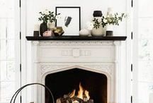 FIREPLACE / fireplaces we want to cozy up to