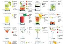 Cocktails / Collection of Cocktail Recipes and Cocktail Ideas