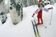 Elf on the Shelf at Steamboat / Elf visits Steamboat Ski Resort each December to enjoy the fresh powder before heading back to the North Pole.
