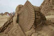 Sand Sculptures / A board dedicated to the beautiful array of sand art, sand sculptures, and sand castles!