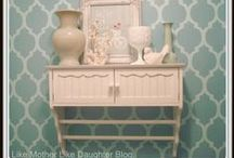 Wallpaper & Stenciling / by Melissa Couch