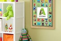 Kids Room Decor / Different ways to decorate rooms for boys and girls.