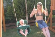 Swings / Selwood Products love swings! We love swings because they're great fun, great exercise and create millions of happy memories for kids all over the world!