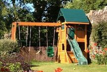 Climbing Frames / Selwood Products specialise in climbing frames, so we offer a fantastic range of products; with a selection of play deck heights, slide lengths, swing features and roof types.