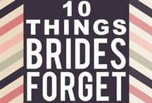 Tips for the Bride