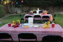 Cowboy Western Party / How to entertain with a western theme. Parties for adults or kids. Barbecue or catered. Fun Event