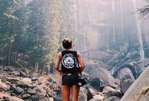 Adventure. / Serious case of Wanderlust