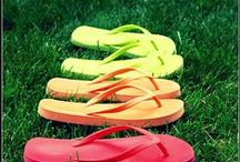 Flip Flops / All kinds of Flip Flops, from funky to classy! Find a pair that fits your style!