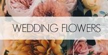 Wedding Flowers / Bouquets for the elegant bride.