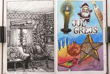 Nina Johansson, watercolors / Great watercolors