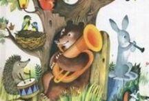 Книги в нашей детской библиотеке / тонкие книжечки можно посмотреть тут http://www.pinterest.com/doaleks/книги-в-нашей-детской-библиотеке